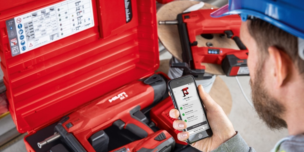 the home of the latest technology from Hilti